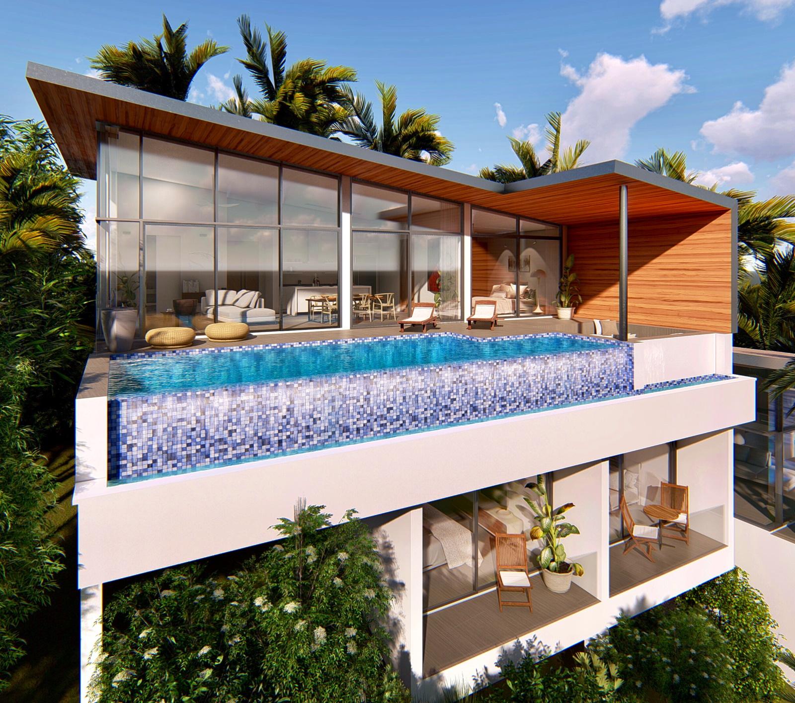 High return on investment, Koh Samui seaview villa